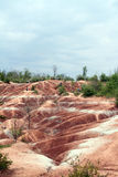 Cheltenham Badlands Trail Stock Images