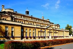 Cheltenham Town Hall. Stock Photography