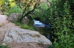 Chelva van de watersleep rivier Royalty-vrije Stock Foto