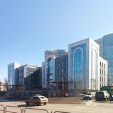 Chelyabinsk architecture Stock Image