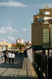 Chelyabinsk city center. View of the Museum stock photography