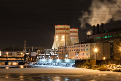 Chelyabinsk hydroelectric power Stock Photo