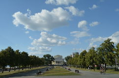 Chelyabinsk Square Royalty Free Stock Photography