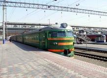 Chelyabnisk railway station Royalty Free Stock Image