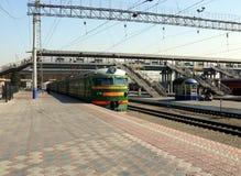 Chelyabnisk railway station Stock Photography
