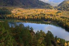 chemal湖 图库摄影