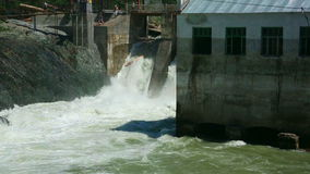 Chemal dam Royalty Free Stock Photo