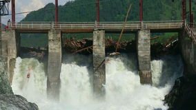 Chemal dam Royalty Free Stock Photography