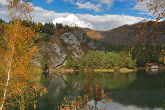 chemal lake Fotografering för Bildbyråer