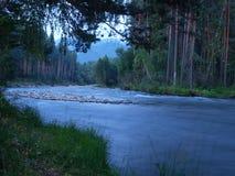 Chemal rzeka Zdjęcia Stock