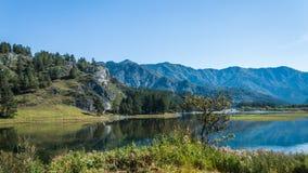 Chemalsky-Reservoir Lizenzfreies Stockbild
