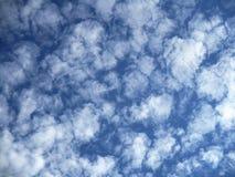Chemcal chmury Obrazy Royalty Free
