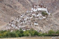 Chemdey gompa, Buddhist monastery in Ladakh,   India Stock Image