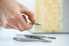 Chemes, chisels. Tools for pedicure.Chemes, chisels Stock Image