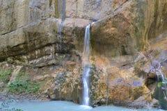 Chemgensky falls Kabardino-Balkaria Caucasus 2013 rest Stock Photo
