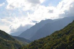 chemgensky kloof Kabardino-Balkarië de Kaukasus Royalty-vrije Stock Afbeelding