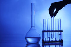 chemia eksperyment Zdjęcia Stock