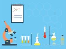 Chemia materiału ikony Zdjęcia Stock
