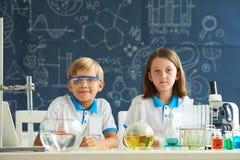 chemia uczenie Fotografia Stock