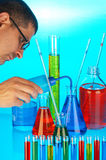 Chemical analysis Stock Photography