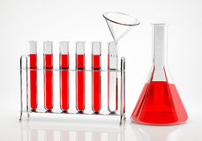 Chemical Analysis Royalty Free Stock Image
