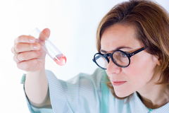 Chemical analysis Stock Image