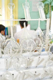 Chemical analysis laboratory Stock Images
