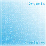Chemical background Royalty Free Stock Images