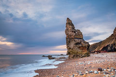 Chemical Beach Sea Stack Royalty Free Stock Photos