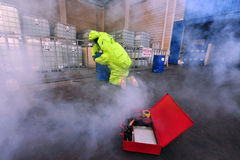 Chemical and Biological War Stock Photo