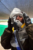 Chemical and Biological War Stock Photography