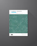 Chemical book cover Royalty Free Stock Image