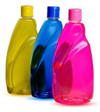 Chemical bottles Stock Photos
