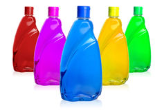 Chemical bottles Royalty Free Stock Image