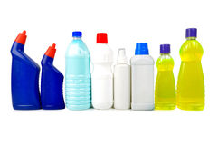 Chemical bottles Royalty Free Stock Photo