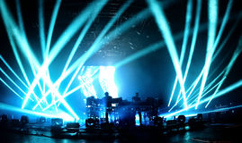 The Chemical Brothers (electronic dance music band) in concert at Sonar Festival Stock Photo