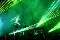The Chemical Brothers (electronic dance music band) live music performance at Sonar Festival Stock Photo