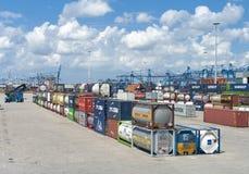 Chemical bulk behållare Royaltyfri Foto