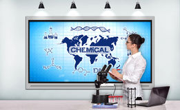 Chemical concept Stock Photography