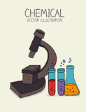 Chemical design Stock Photography