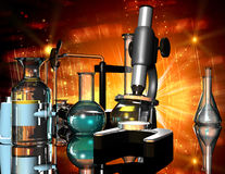 Chemical Devices Royalty Free Stock Images