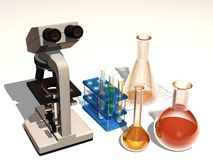 Chemical devices Royalty Free Stock Photography