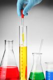 Chemical drop Royalty Free Stock Image