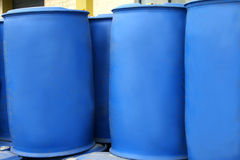 Chemical drums Royalty Free Stock Photo