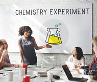 Chemical Education Experiment Formula Concept Royalty Free Stock Image