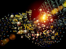 Chemical Elements Abstraction Stock Photos