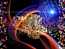 Chemical Elements Background Royalty Free Stock Photos