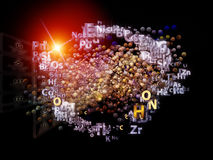 Chemical Elements Metaphor Stock Photography