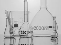 Chemical equipment. For samples analyses Royalty Free Stock Photography