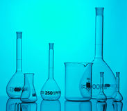 Chemical equipment. For samples analyses Stock Images